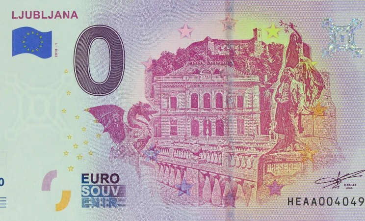 Slovenija 0 € 2018 - Souvenir