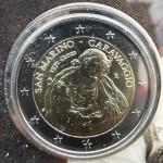 SAN MARINO 2€ 2021 - 450. obletnica rojstva Caravaggia