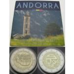 ANDORRA SET (1 Cent - 2€) 2016  & 2x ANDORRA 2€  2016 - AKCIJA!!