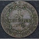 AVSTRIJA 1 Kreuzer 1812 S - Franz II (I)