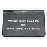 SFRJ 10, 20, 50, 100 Dinarjev 1989 - Lot v  folderju.