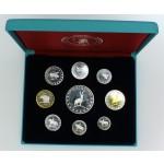 Slovenija - Zbirka prototip evro kovancev 2004
