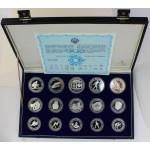 100, 250, 500 dinarjev 1984 - Olimpijske igre v Sarajevu