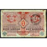 1 Krona 1916 - žig LJUBLJANA