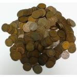 NEMČIJA - 2 Pfennig - Lot cca. 1200g kovancev različnih letnic in kovnic.
