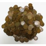 NEMČIJA - 1 Pfennig - Lot cca. 1200g kovancev različnih letnic in kovnic.