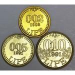 0.02, 0.05, 0.10 Lipe 1991/1992