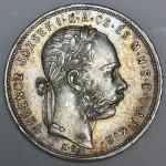MADŽARSKA 1 Forint  1881 KB