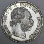 AVSTRIJA 1 Florin 1884