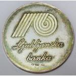 Medalja - Ljubljanska banka
