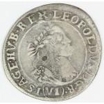 MADŽARSKA 6 Krajczar 1669 KB - Leopold I.