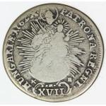MADŽARSKA 17 Krajczar 1762 KB - Maria Theresia