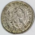 MADŽARSKA 6 Krajczar 1672 KB - Leopold I.