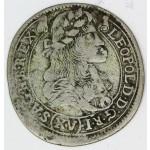 MADŽARSKA 15 Krajczar 1681 KB - Leopold I.