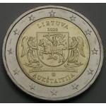 LITVA 2€ 2020 - Regija Aukštaitija