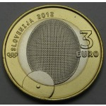 SLOVENIJA 3€ 2012 - 100. obletnica osvojitve prve olimpijske medalje