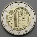 SLOVAŠKA 2€ 2018 -  25. obletnica ustanovitve Slovaške republike