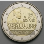 LUKSEMBURG 2€ 2018 - 150th anniversary of the Luxembourg Constitution