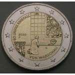 NEMČIJA 2€ 2020 - 50 let varšavske genuflekcije - (A,D,F,G,J)