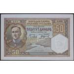 50 dinarjev 1931 XF-aUNC