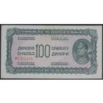 100 dinarjev 1944 VF+ (ruski tip)