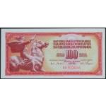 100 dinarjev 1965 UNC-