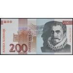 200 tolarjev 1992 UNC