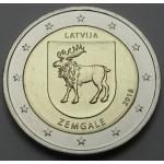 LATVIJA 2€ 2018 - Zemgale