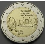 MALTA 2€ 2019 - Ta' Ħaġrat Temples - kovnica F