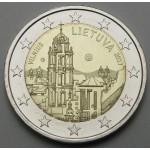 LITVA 2€ 2017 - Vilnius Colture & Art