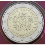 SAN MARINO 2€ 2017 - Tourism for Development