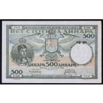500 dinarjev 1935 XF