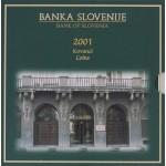 SLOVENIJA SET 2001 BU