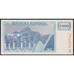 1000 tolarjev 1991 - AC - UNC
