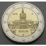 NEMČIJA 2€ 2018 - Berlin - Charlottenburg Palace - (A,D,F,G,J )