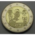 LUKSEMBURG 2€ 2012 POROKA