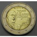 FRANCIJA 2€ 2010