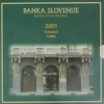 SLOVENIJA SET 2001 PROOF