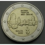 MALTA 2€ 2020 - Templji Skorba
