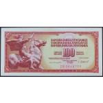 100 dinarjev 1981 UNC