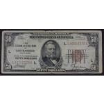 ZDA 50 Dolarjev 1929 (L) F