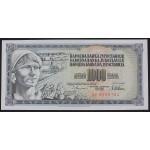1000 dinarjev 1978 UNC (z napako GUVERNE)