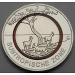 NEMČIJA 5€ 2018 - Subtropical Zone