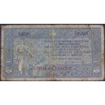 10 dinarjev / 40 kron 1919 VG