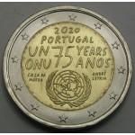 PORTUGALSKA 2€ 2020 -  75. obletnica Združenih narodov