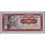 100 dinarjev 1955 VF+
