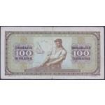100 dinarjev 1946 F (brez nitke)