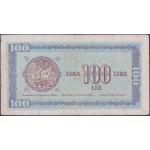 100 lir 1945 F