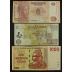 Lot 9 Bankovcev Amerika & Afrika - UNC (3)