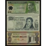 Lot 9 Bankovcev Amerika & Afrika - UNC (2)